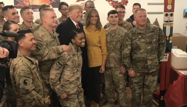 Трамп неочікувано прибув до Іраку