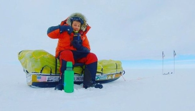 Американец первым совершил самостоятельный переход через Антарктиду