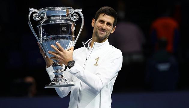 Джокович возглавил рейтинг лучших спортсменов года по версии европейских СМИ