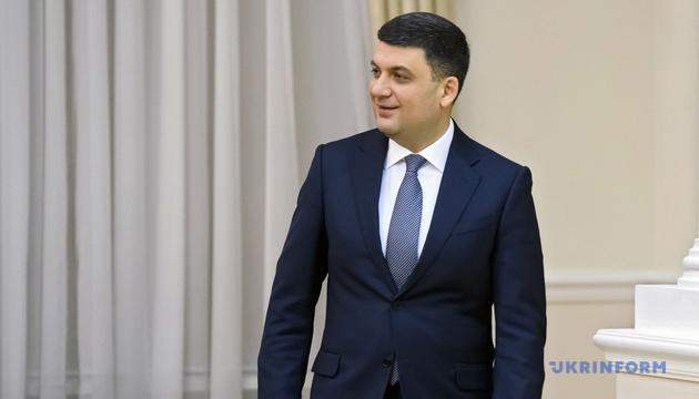 Regierungschef Hrojsman unterstützt Kandidatur von Poroschenko für Präsidentenamt