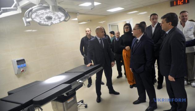 В Виннице открыли обновленное отделение онкоцентра