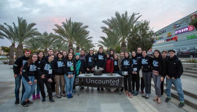 Українські студенти провели в містах Ізраїлю акцію, присвячену Голодомору