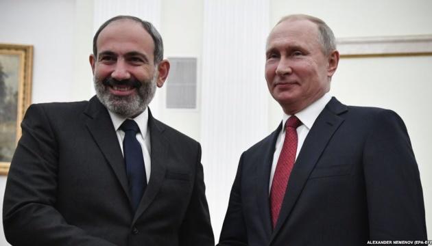 Пашинян й надалі інтегруватиме Вірменію до російського ЄАЕС