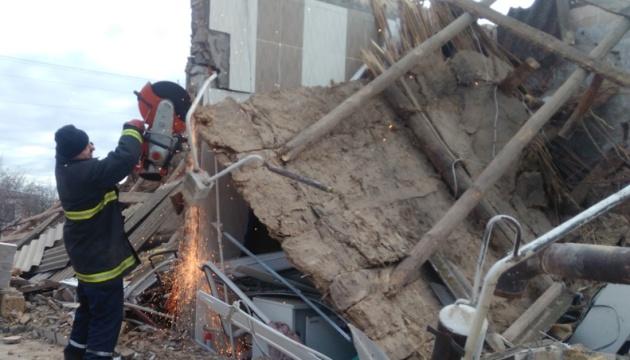 Вибух на Херсонщині зруйнував будинок, постраждало немовля
