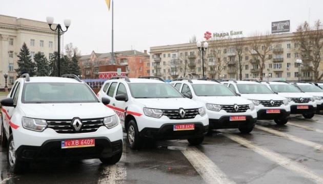 Сільські лабораторії на Херсонщині отримали 25 нових авто