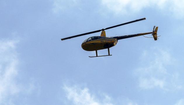 У Росії вертоліт упав і спалахнув у місті, є загиблі