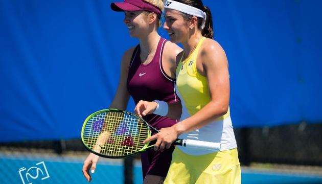 Пара Свитолина - Севастова проиграла на старте теннисного турнира в Брисбене