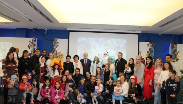 Українська громада в Йорданії розпочала святкування Нового року