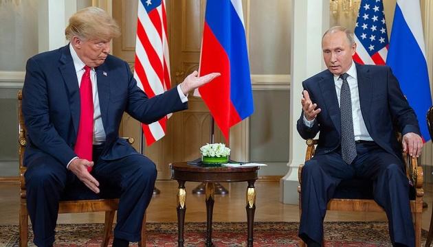 """Путин навязывал Трампу мнение о """"коррумпированной Украине"""" - WP"""