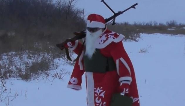 ウクライナ統一部隊作戦の兵士たち、前線から新年の動画メッセージを公開
