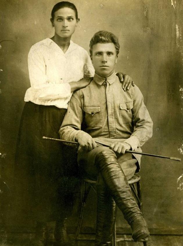 Батьки патріарха Філарета, 1920-ті рр.