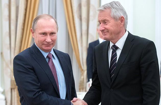 Володимир Путін, Турбйорн Ягланд