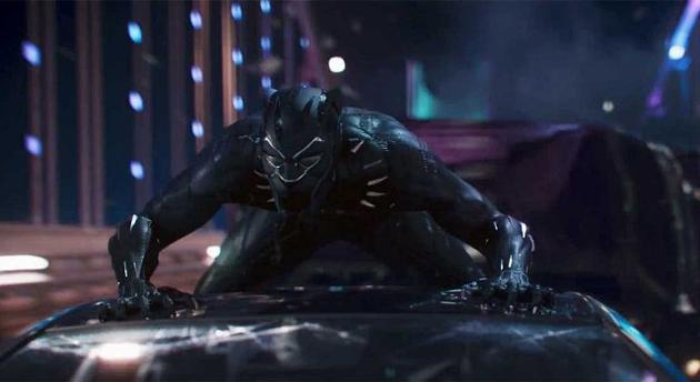 Кадр з фільму Чорна пантера