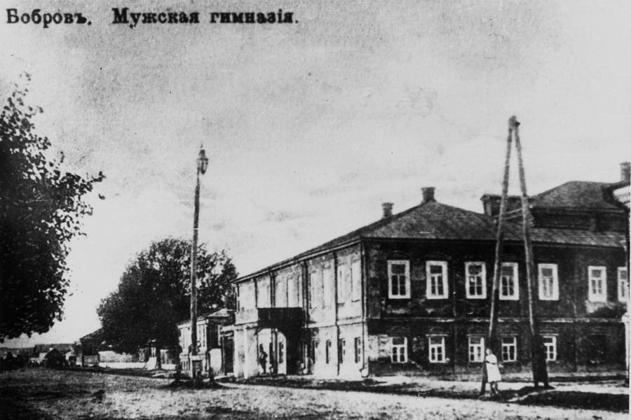 Бобровська чоловіча гімназія