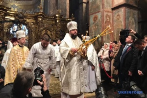 Enthronement of Primate of Ukraine's Orthodox Church to be held at St. Sophia Cathedral