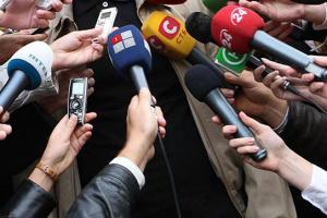 """Для журналистов открывают """"горячую линию"""""""