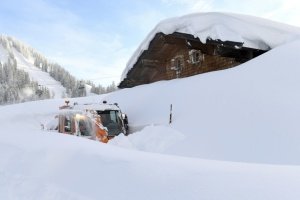 Синоптики предупреждают об опасности снежных лавин в Карпатах