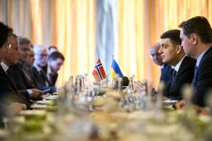 Україна та Норвегія посилять економічну співпрацю – Гройсман