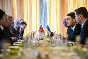 Ukraine und Norwegen wollen wirtschaftliche Zusammenarbeit ausbauen