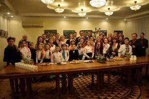 Колядки й щедрівки лунали у Посольстві України в Молдові