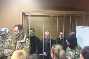 Лефортовський суд продовжив арешт ще чотирьом українським морякам