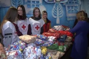Діти зі Швеції передали подарунки для тернопільської малечі