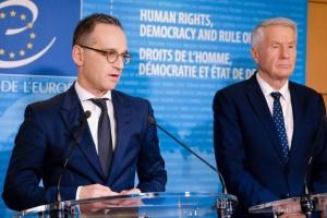 Берлин считает, что выход России из СЕ станет ударом по защите прав человека в стране
