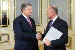 Petró Poroshenko y Wolfgang Sobotka discuten el Nord Stream 2 y la liberación de marineros ucranianos (Fotos)