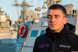 """Полонений командир катера """"Нікополь"""" Небилиця зустрічає 25-річчя під арештом"""