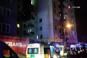 В Тбилиси произошел взрыв газа в многоэтажке, есть пострадавшие