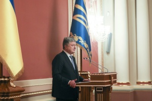 Poroshenko thanks the world for supporting Ukraine