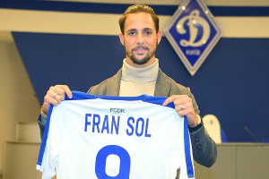 Dynamo Kyiv signs Fran Sol