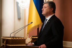 Poroshenko calls on diplomats to deliver truth about Russia's undeclared war