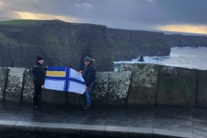 В Ірландії провели флешмоб на підтримку українських моряків