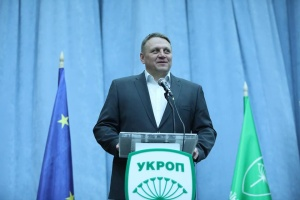 MP from UKROP party Shevchenko submits documents to CEC