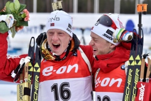 Норвежец Йоханнес Бё выиграл спринт на этапе Кубка мира по биатлону в Рупольдинге