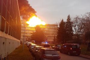 У студентському гуртожитку в Ліоні пролунав вибух, троє поранених