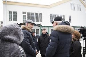 Кличко проверил, как идет реконструкция детсада для детей с особыми потребностями