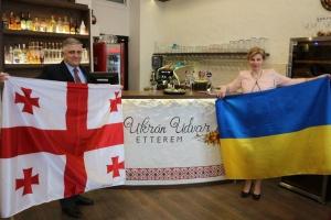 В Українському ресторані Будапешта проходить Грузинській місяць
