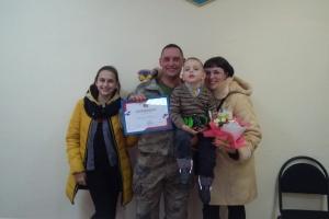 «Украинцы вместе»: владельцы социальных карточек участника АТО получили первые квартиры