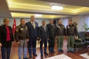 Посол України відвідав Самсун, аби подякувати рятувальникам моряків