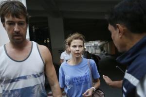 Депортированных из Таиланда Рыбку и Лесли задержали в Москве - СМИ
