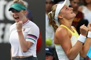 Australian Open: у суботу на корт вийдуть Світоліна та Ястремська
