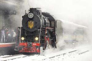 На Крещение Киев можно будет увидеть из окна ретропоезда