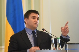 Klimkin in Davos tells about Russian disinformation in Ukraine