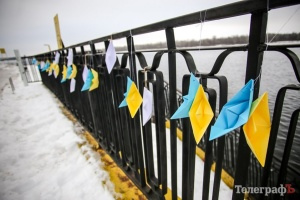 Кременчук прикрасили корабликами на честь 23-річчя полоненого моряка
