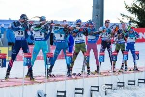 Украинские биатлонисты заняли 7 место в эстафете на этапе Кубка мира в Рупольдинге