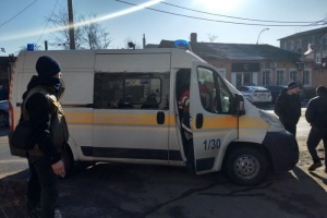 Полиция задержала подозреваемого в нападении на офис газеты в Херсоне