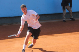 Юниорский Australian Open: украинец Эрик Ваншельбойм зачехлил ракетку