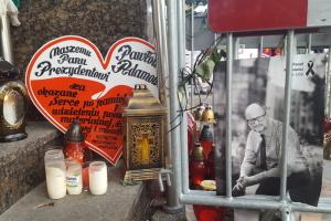 У Гданську попрощалися із загиблим мером